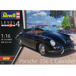 Revell  1/16  Porsche 356 C...