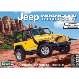 Revell  1/25  Jeep WRANGLER...