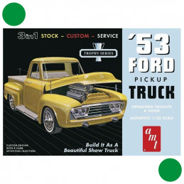 AMT  1/25   '53 Ford Pickup Truck