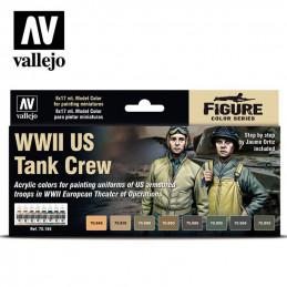 Vallejo  WWII US. Tank Crew