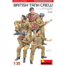 MiniArt  1/35  British Tank Crew