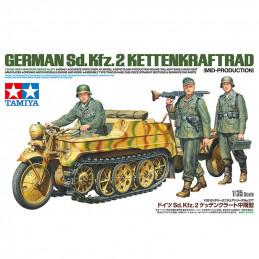 Tamiya  1/35  German Sd.Kfz.2 Kettenkraftrad (Mid-Production))