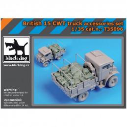 Black Dog  1/35  British 15 CWT Truck Accessories Set