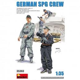 MiniArt  1/35  German SPG Crew