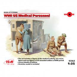 ICM  1/35  WWI US Medical...