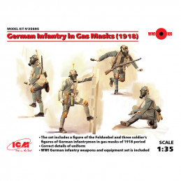 ICM  1/35  German Infantry...