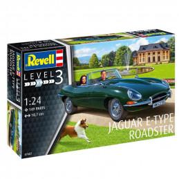 Revell  1/24  Jaguar E-Type...