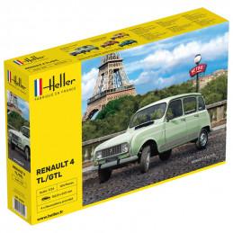 Heller  1/24  Renault 4 TL/GTL