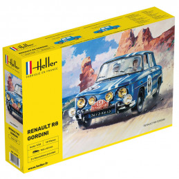 Heller  1/24  Renault R8...
