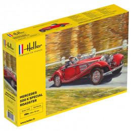 Heller  1/24  Mercedes 500K...