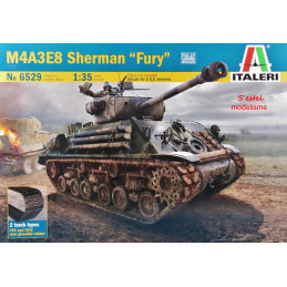 Italeri    1/35     M4A3E8...