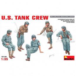 MiniArt  1/35   U.S. Tank Crew