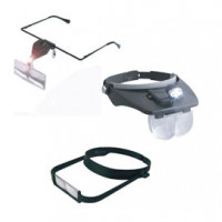 Magnifying glasses and glasses